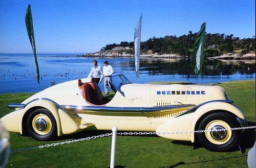 1935 Duesenberg entered by Harry Yeaggy