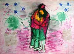 35 óleo sobre lienzo 1,90x2,60 m  2010 (arteneoexpresionista) Tags: rando jorge figuras pinturas neoexpresionismo