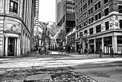 Gothic Calgary II (Matthew P Sharp) Tags: city urban blackandwhite calgary downtown hdr