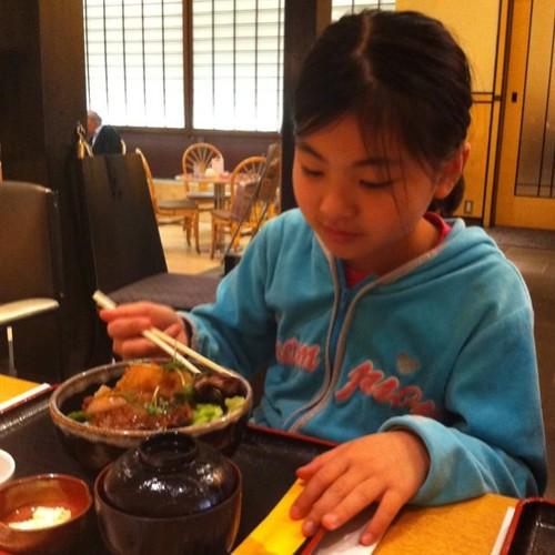 昼食食ってこれから横浜へ