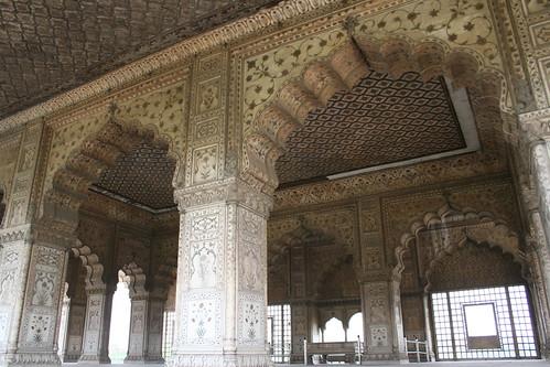 Inside Lal Qila