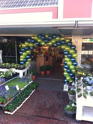 Ballonboog 6m Flowerworks Barendrecht