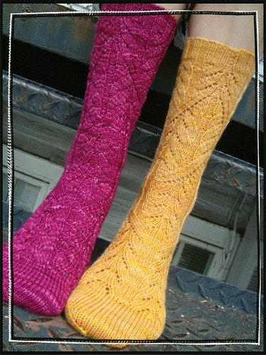 mystery socks!
