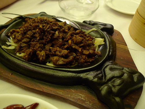 Lamb with cumin at l'Orient d'Or