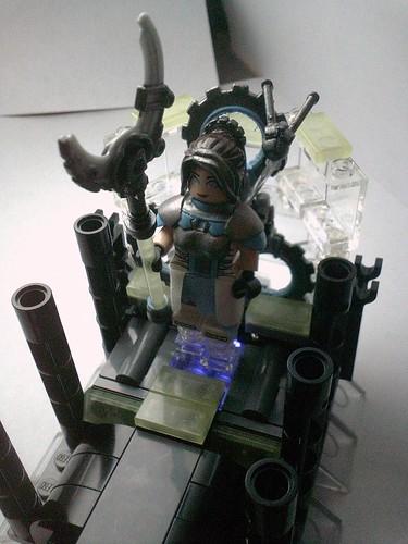 Custom minifig Goddess of Machines