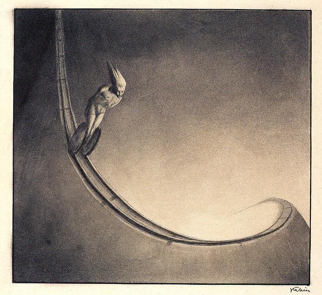 Alfred Kubin - Man, 1902