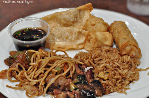 Asian Plate at Grand Casi