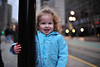 Smile! (nateOne) Tags: blue train 35mm toddler waiting jacket schnivic lightrail uta dottie iso1600 trax 35mmf14 nikond700 11600secatf14 focusdistance890mm