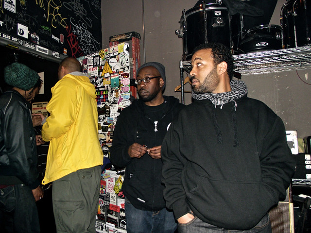 Hassaan Mackey, Homeboy Sandman, Ke Brown & Early Read