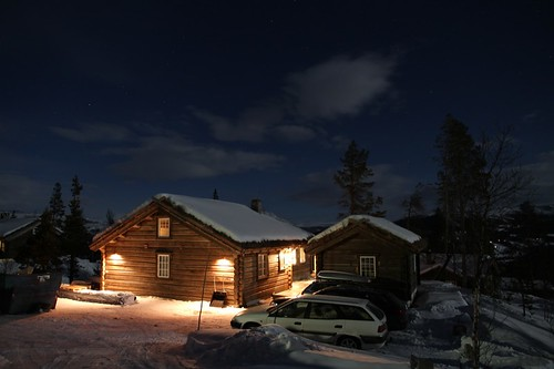 A winter night in Jotunheimen