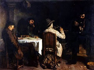 Sobremesa en Ornans, 1848