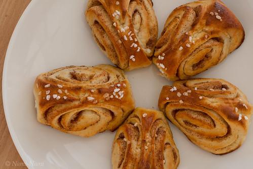 Korvapuustit / Finnish cinnamon rolls / Soome kaneelisaiad