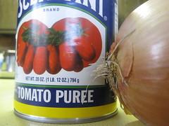 tomato + onion