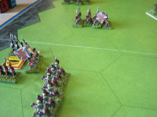 [2] French lancers terrorise British infantry