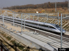 CHINA HAS FASTEST TRAIN IN WORLD IN SERVICE (roberthuffstutter) Tags: china leaders trump videos passengertrains highspeedtrains huffingtonpost termlimits newtrains democracyvssocialism november2012 chinastrains chineseprogress usatrainsvschinastrains comparingusaandchina fasttrainvideo trains300mphchina fastesttrain300mph trumpisnotjoking monitoringusdollars greatestgenerationmadeusagreat trumpin2012 november2012issues