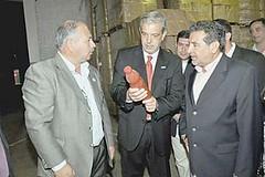 Domínguez rescató modelo de producción «a la riojana»