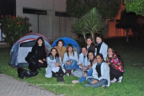 Concenttación Auxiliares de Enfermería Melilla
