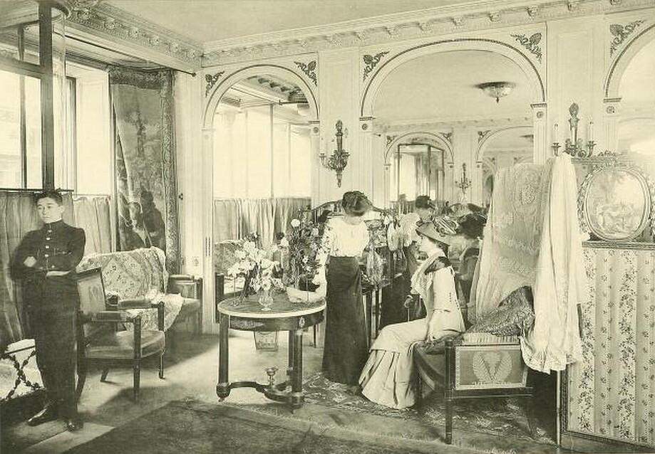 Les Createurs de La Mode 1910 - 10 - Galerie de Vente - Paquin