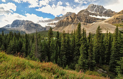 Icefields Parkway - Grandeur of the Canadian Rockies (Jeff Clow) Tags: canada mountains landscape raw majestic rugged banffnationalpark icefieldsparkway canadianrockies grandeur 1exp