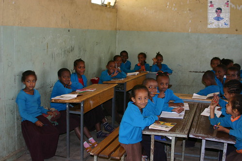 students at bright hope school