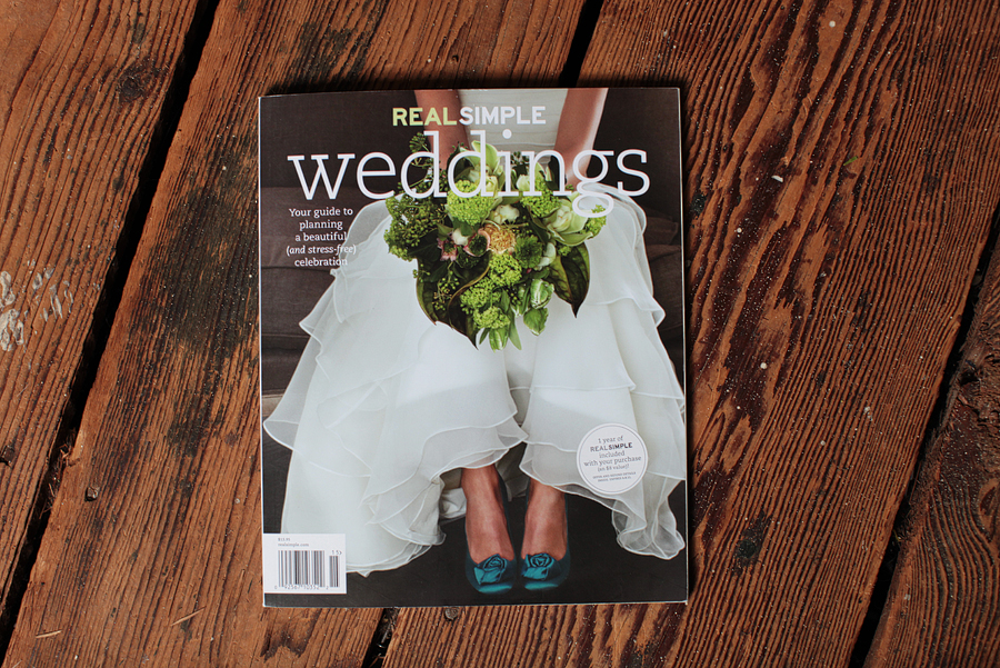Real Simple Weddings 2011