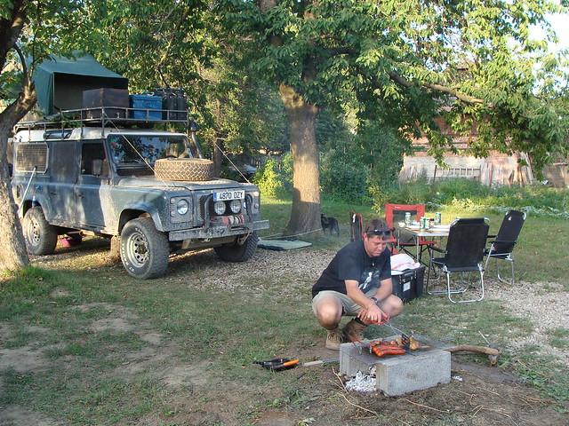 John cooking
