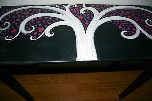 "Sofa Table 36"" x 14"" x 36"" by Rick Cheadle Art and Designs"