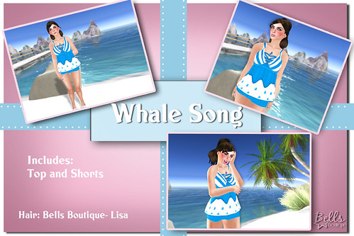 Whale Song Vendor Sign