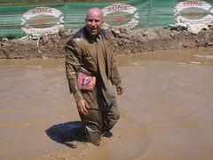 Irvine Lake Mud Run 032 (Mr. Muddy Suitman) Tags: run dirty suit irvine dodgeball irvinelakemudrun