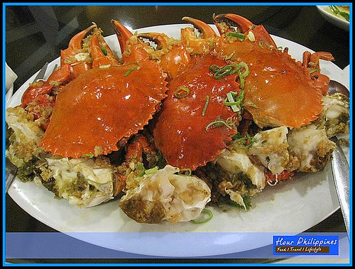 Hai Shin Lou Steamed Crab with Garlic