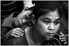 Worlds [..Dhaka, Bangladesh..] (Catch the dream) Tags: bw woman monochrome kid child sleep worried expressive emotions bangladesh bnw motherandchild motherandson religiousfestival sleepingkid tribalwoman narayanganj catchthedream mohammadmoniruzzaman gettyimagesbangladeshq2
