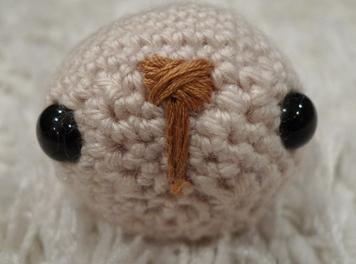 Amigurumi Bunny Face : crafts: Gift for easter: bunny amigurumi pattern