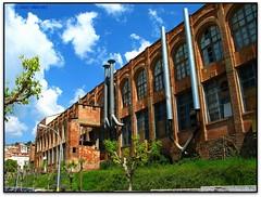 Roca Umbert, St. Feliu de Codines (Jess Cano Snchez) Tags: espaa canon spain factory modernism catalonia catalunya modernismo catalua fabrica modernisme valles espanya vallesoriental powershotg3 elsenyordelsbertins santfeliudecodines rocaumbert barcelonaprovincia cinglesdeberti enotrolugardeflickr