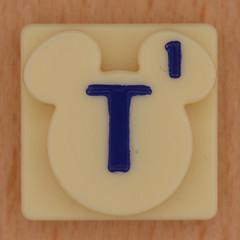 Disney Scrabble Letter T (Leo Reynolds) Tags: canon t eos iso100 scrabble letter 60mm f80 oneletter ttt letterset 40d hpexif 0033sec grouponeletter xsquarex xleol30x