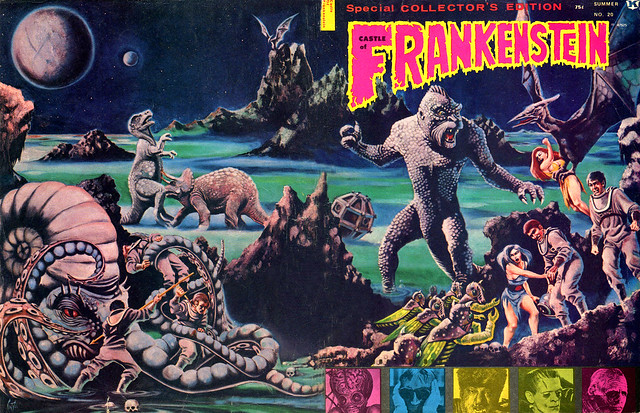 Castle Of Frankenstein, Issue 20 (1973) Cover Art by Maelo Cintron