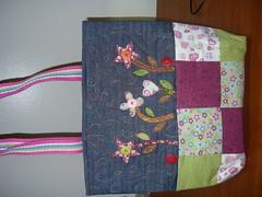 BOLSA-APLIC (ArteTerapia) Tags: bag purse fuxico sue patchwork handbag bolsas riscos aplicacao apllique passoapasso bolsadetecido