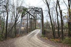 Historic Fryer Bridge (dbro1206) Tags: bridge iron historic ironbridge arkansas onelanebridge truss pratttruss woodenrunners