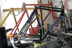 Koichi Yamaguchi's Collection! (Dancing Weapon of Mass Destruction) Tags: road school building bike bicycle speed track gear single frame fixed yamaguchi pista velodrome