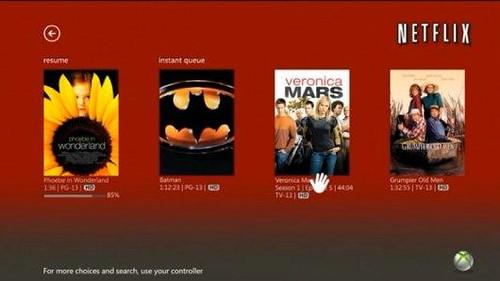 Netflix Kinect