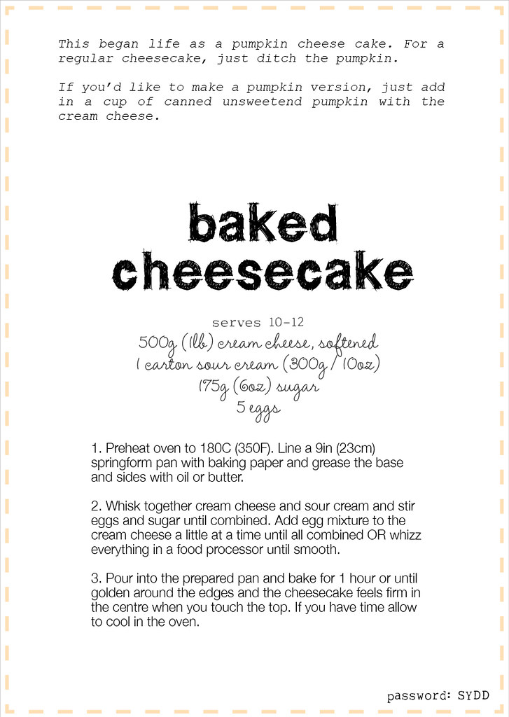 how to make baked cheesecake video