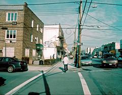 Avenue U & East 3rd (BSH Shooter) Tags: street new york city brooklyn xpro nikon cross kodak 28mm east u process avenue elitechrome processed 3rd nikkormat gravesend soligor eb3