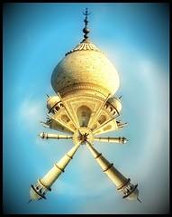 Tiny Planet Taj Mahal