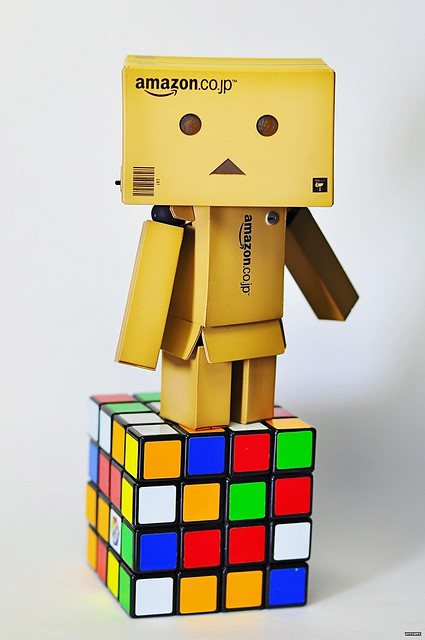 Meet Danbo & his Rubik