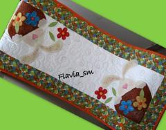 Trilho Pscoa (flavia_sm1963) Tags: quilt patchwork coelho pascoa trilho aplicao patchcolagem