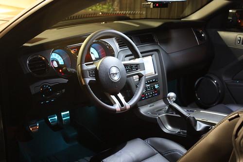 2011 mustang interior. 2011 Mustang Interior
