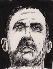 Ink sketch (Jim_V) Tags: portrait ink sketch