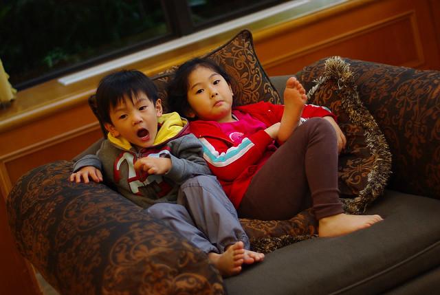 假日比上班忙 - 帶小孩,拍小孩,追小孩,吃with小孩