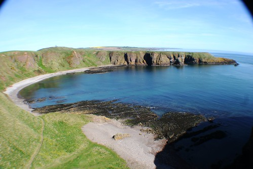 Beach View from Dunnottar Castle