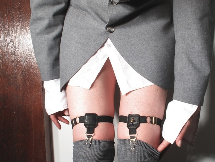 SWANclothing Sock and Thigh High Garters