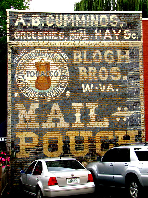 Well Preserved Mail Pourch Tobacco Ad - Jonesborough, TN